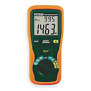 Battery Operated Megohmmeter,1000V