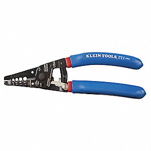 "7-1/8"" Stranded Wire Stripper, 12 to 6 AWG Capacity"