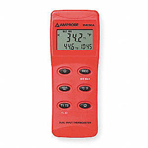 Thermocouple Thermometer,2 Input