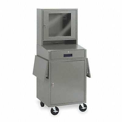 1YCB1 - Computer Cabinet 24-1/2x22-1/2x62-3/4 In
