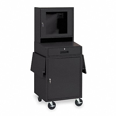 1YCB2 - Computer Cabinet 24-1/2x22-1/2x62-3/4 In