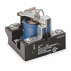 240VAC, 5-Pin Surface Open Power Relay; Electrical Connection: Screw