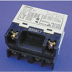 Enclosed Power Relay,6 Pin,12VDC,DPST-NO