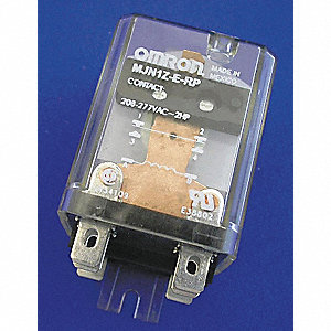 Enclosed Power Relay,15A,24VAC,SPDT