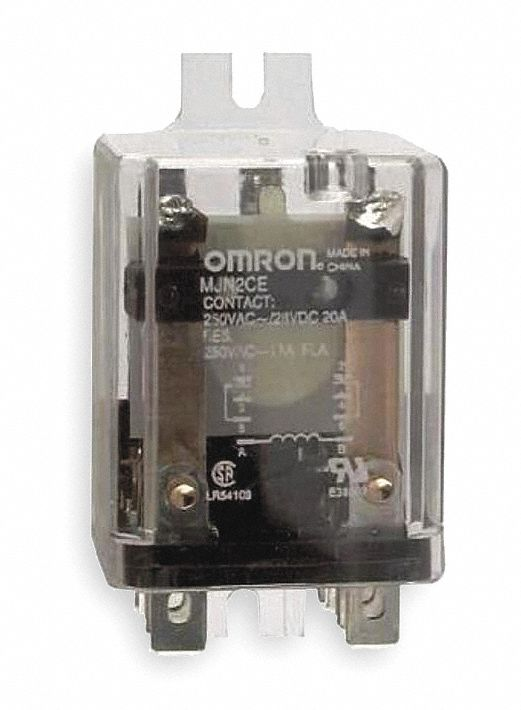 OMRON 12VDC 8Pin Side Flange Enclosed Power Relay Electrical