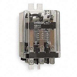 12VDC, 11-Pin Flange Mount Relay; Flange Location: Side, AC Contact Rating: 10A @ 240V