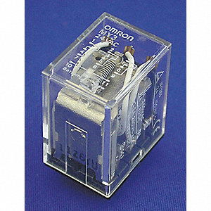 Plug In Relay,11 Pins,Square,12VDC