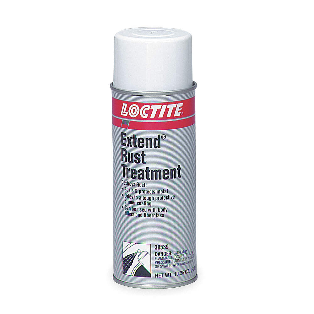 Interior/Exterior Rust Converter with 200 sq  ft /gal  Coverage, Semi-Gloss  Clear or Milky, 15 oz