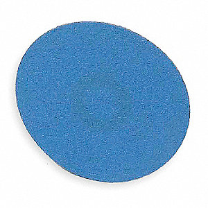 "3"" Quick Change Disc, Zirconia Alumina, Turn-On/Off, 60 Grit, Medium, Coated, BlueFire, PK25"