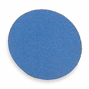 "1-1/2"" Coated Quick Change Disc, TR Roll-On/Off Type 3, 80, Coarse, Zirconia Alumina, 100 PK"