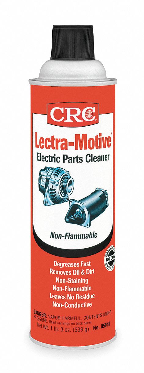 Electronic Contact Cleaner;Aerosol Can;20 oz;Non Flammable;Chlorinated
