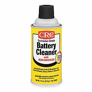Battery Cleaner/Acid Indicator, 12 oz. Spray Can