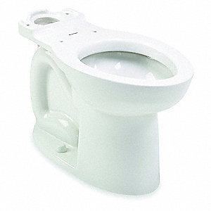 Toilet Bowl, Floor Mounting Style, Elongated, 1.28/1.60 Gallons per Flush