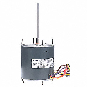 1/2 HP Condenser Fan Motor,Permanent Split Capacitor,1075 Nameplate RPM,208-230 Voltage,Frame 48YZ