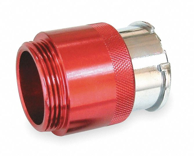 Cooling System Pressure Test Adapter, Red Anodized Finish