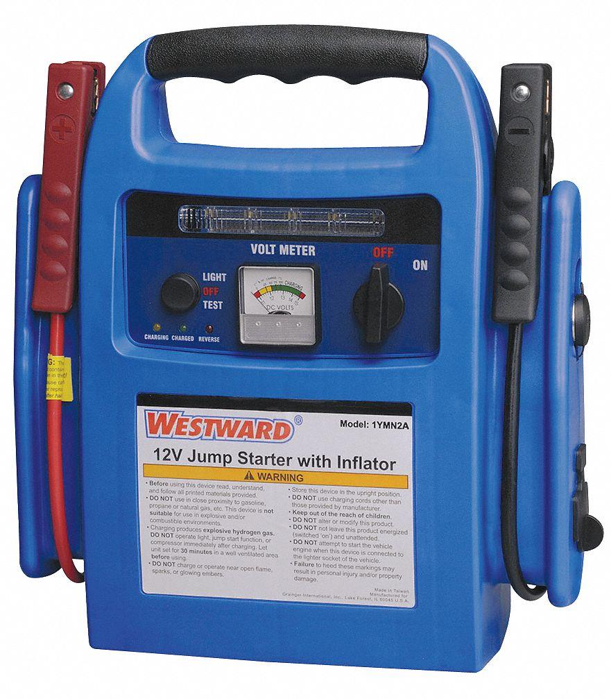 WESTWARD Handheld Portable 12V Portable Power Source, Boosting for AGM -  1YMN2|1YMN2 - Grainger