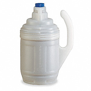 Bottle Jacket,1 Gal.,Clear,Polyethylene