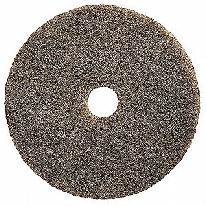 "20"" Beige Burnishing Pad, Natural Hair, Package Quantity 5"