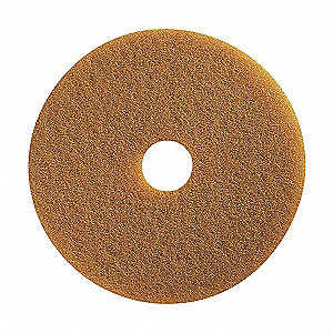 "8"" Tan Polishing Pad, Package Quantity 10"