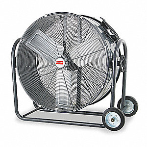 "30"" Industrial Mobile Non-Oscillating Air Circulator"