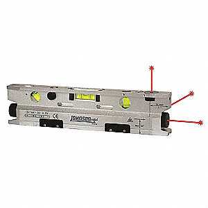 Three Beam Magnetic Torpedo Laser Level