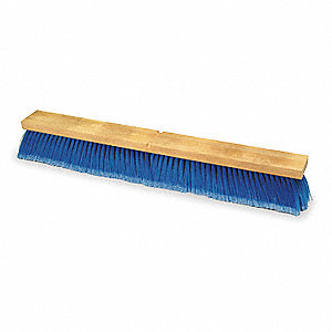 FLOOR SWEEP,18 IN,BLACK AND BLUE