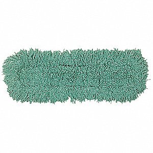 "Cotton, Synthetic Dust Mop, Length 18"", Width 5"", 1 EA"