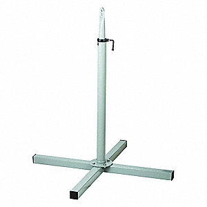 OPEN BASE FLOOR PEDESTAL,STEEL