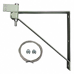 "Mounting Bracket For Use With Dayton Yoke-Mounted Air Circulator Heads Up Through 30"", Except Ceilin"