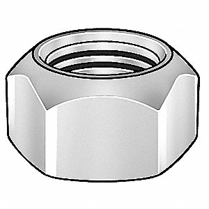 "1/4""-20 Top Lock, Zinc Plated Finish, Grade 9 Steel, Right Hand, PK100"