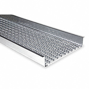 Anti-Slip Walkway,144 In. L,4-1/2 In. H
