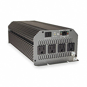 Inverter, 1800W, 4 Outlet, Hardwired