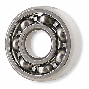 Mini Ball Bearing,Open,Bore 0.2500 In