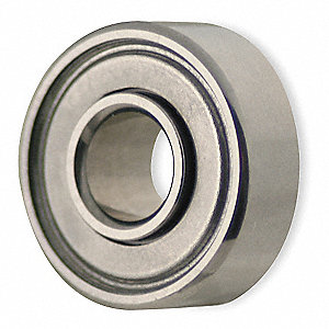 Mini Ball Bearing,Shielded,Bore 0.1250In