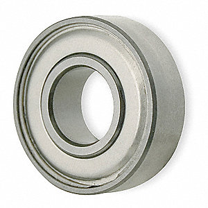 Mini Ball Bearing, Shielded, Bore 8mm