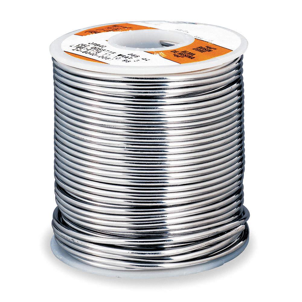 KESTER SOLDER Flux Cored Wire Solder,0.062 In D,1 Lb - 1ZHW6|24-6040 ...