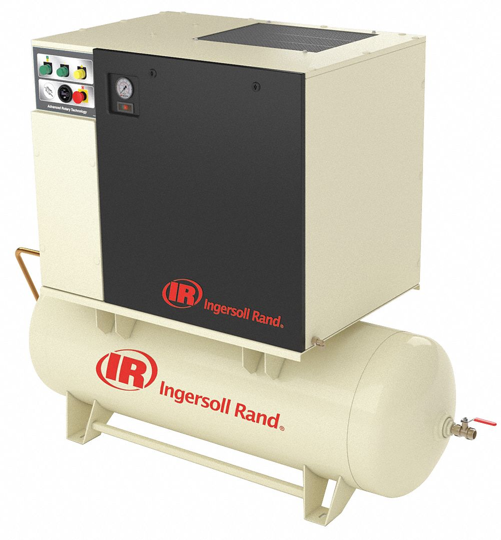 Air Dryer For Air Compressor >> 3 Phase 7 5 Hp Rotary Screw Air Compressor W Air Dryer With 80 Gal Tank Size