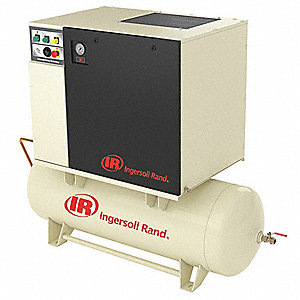 Air Dryer For Air Compressor >> Ingersoll Rand 1 Phase 5 Hp Rotary Screw Air Compressor W Air Dryer