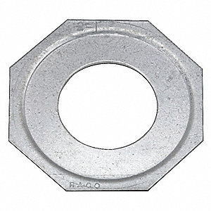 Steel Reducing Washer,  For Use With Fittings and Enclosures ,  Conduit: 3 x 1-1/2