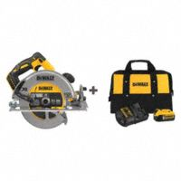 Deals on DEWALT 20V MAX 7-1/4-in Circular Saw Kit w/5Ah Battery and Charger