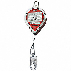 Self-Retracting Lifeline, 30 ft. Length