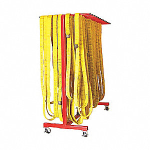 Steel Mobile Hose Dryer, 250 ft. Hose Capacity, For Hose Dia. 1-1/2""