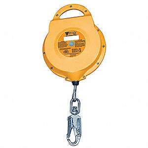 Self-Retracting Lifeline,65 ft.,310 lb.