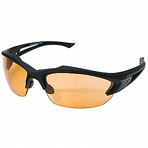 Acid Gambit Vapor Shield Anti-Fog, Scratch-Resistant Safety Glasses, Tiger's Eye Lens Color