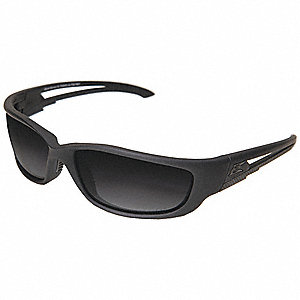 Blade Runner XL Scratch-Resistant Polarized Safety Eyewear, Gradient Smoke Lens Color
