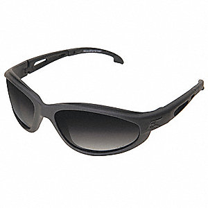 Scratch-Resistant Polarized Safety Eyewear, Gradient Smoke Lens Color