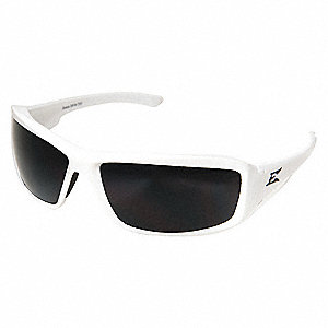 Brazeau Scratch-Resistant Polarized Safety Glasses, Smoke Lens Color