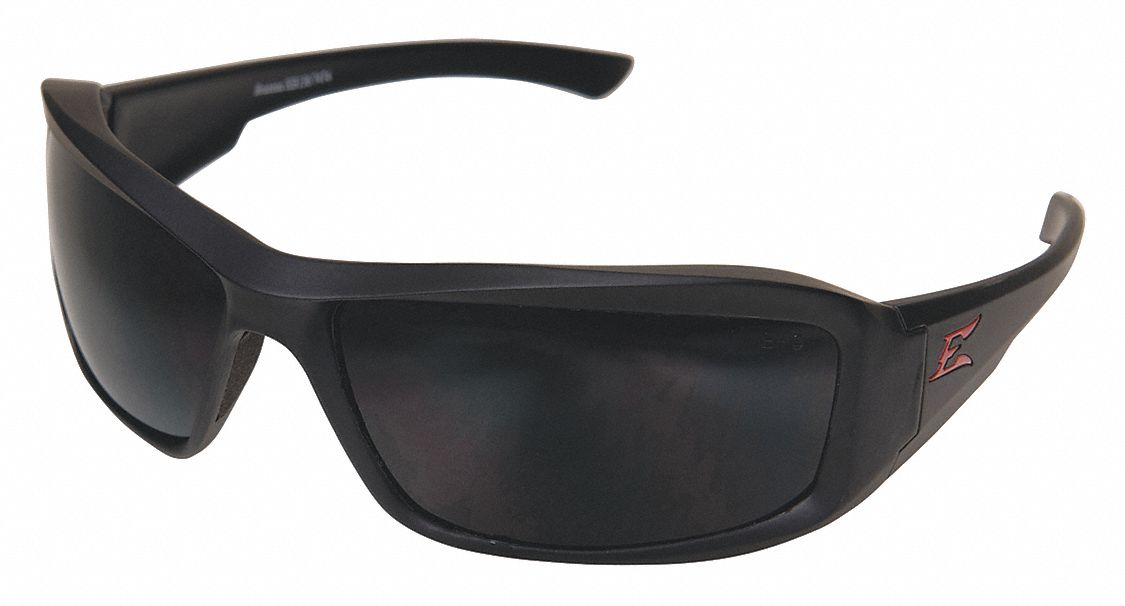 polarized safety glasses edge eyewear brazeau torque matte black scratch resistant 10555