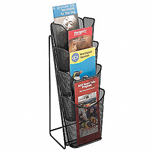 Pamphlet Rack,4-Pocket