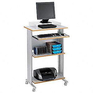 Stand-Up Workstation,Gray